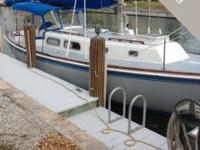 The Pearson P35 sloop is an affordable sailboat that