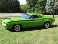 1972 Plymouth Barracuda-NEEDS RESTORED-Runs & drives
