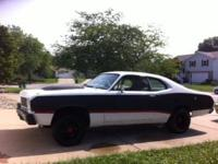 72 Duster Pro Street: Factory 340 car, fresh Balanced