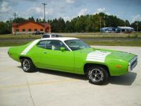 1972 Road Runner (Tribute) Complete Fram Up