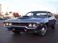 1972 Plymouth Roadrunner RM23 B5 Blue. Amazing, Rare