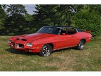 1972 Pontiac LeMans GTO Hard Top coupe comes with the