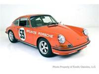 Peter Greggs Personal 1972 911S Peter Gregg, Porsche