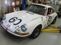 1972 Porsche 911 MFI White. The body is rust free,