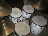 This drum kit was my grandfathers and I don't play the