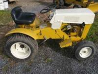 great condition tractor, comes with mower deck. call