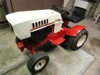 1972 SEARS Lawn Tractor includes: 3 speed gear