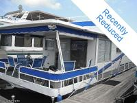 Custom-made Built 1972 Sumerset 57'x15' Houseboat! This