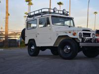 Offered for sale is a gorgeous 1972 Toyota FJ 40. This