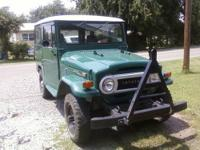 1972 TOYOTA LANDCRUISER FJ40 RESTORED, 3 SPEED, ALL