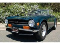 1972 TRIUMPH TR6 Original California example. This car