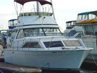 1972 Trojan F31 Flybridge Cruiser, Sale or Trade.