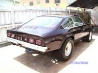 A SWEET RARE 1972 PRO STREET OR DRAG VEGA GT HOUSE OF