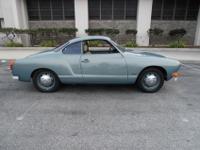 1972 Volkswagen Karmann GhiaSuperb condition, 100 %