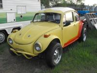 1972 vw buggy, just replaced the front end,newer