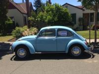 Original owner selling 1972 Super Beetle with sunroof.