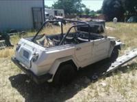 1972 VW Thing - FRESH BARN FIND! retro project - motor