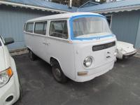 This 1972 VW Van is a genuine discover. This is a one