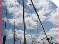 Alberg 37 MK II cutter rigged yawl sailboat with