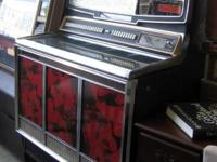This is a made use of Wurlitzer Super Star Jukebox. It