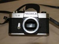 I have a Yshica TL-E SLR 35mm camera for sale with the