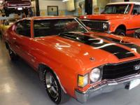 1972 CHEVELLE SS Malibu Sports Coupe with rare 350