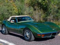1972 Chevrolet Corvette 454 Roadster To be featured in