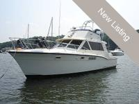 Timeless Boat. 38 foot Hatteras 38C Sport Fish.The hull