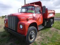 1972 International 1700 4x4 5 yard Dump Truck.