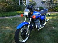 This is my Beautiful Kawasaki H2 750. The engine is the