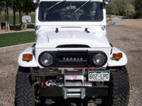 Restored 1972 Toyota Land Cruiser FJ40 with over