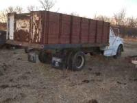 1972 TWO TON CHEVY WITHv8 366 eng. & 14 FOOT ALL STEEL