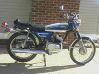 5 Spd 4077 miles with original front tire that needs