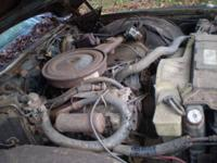 1973 Buick 350 4 barrel motor. Complete air cleaner to