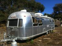 I am selling my vintage Airstream Sovereign. Serious