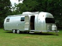 Vintage 1973 29ft AIRSTREAM AMBASSADOR Travel Trailer
