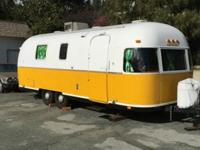 "1973 airstream argosy ""The Tiki Hut"" because we want to"