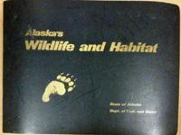Rare State of Alaska Fish and Game Atlas - Makes for a