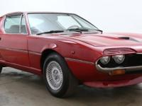 1973 Alfa Romeo Montreal Coupe shown here is available