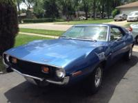 1973 AMC JAVELIN MUSCLE CAR,ORIGINAL; PAINTED 85.000