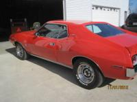 THIS IS A SUPER RARE RESTORED 1973 AMX. IT IS A NUMBERS