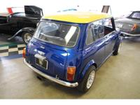 Here's a Beautifully Restored modified Mini-Cooper.