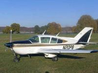 1973 Bellanca 17-31A Super Viking only 2300 TT, 300