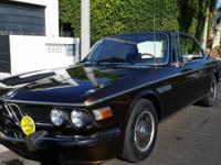 1973 BMW 3.0CS Coupe Base. paint is great. seats are