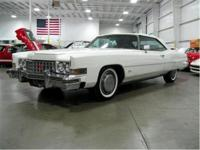 We are pleased to present this 1973 Cadillac Fleetwood