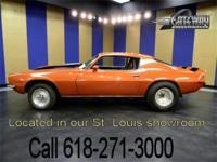 A 1973 Chevrolet Camaro Pro-Street with a 355 c.i.d.