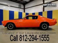 1973 Chevrolet Camaro Z28 in stunning Hugger Orange