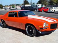 This 1973 Split Bumper Chevrolet Camaro is a real Type