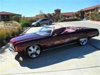 I have a 1973 Chevy Caprice Classic convertible for