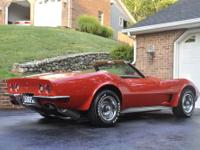 1973 Chevrolet Corvette 454 Stingray Convertible, This